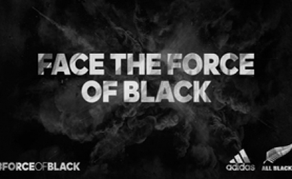 ADIDAS - Face the Force of Black